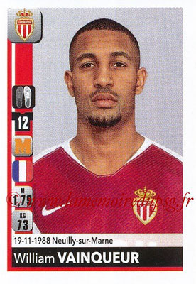 2018-19 - Panini Ligue 1 Stickers - N° T22 - William VAINQUEUR (Monaco) (Transfert)