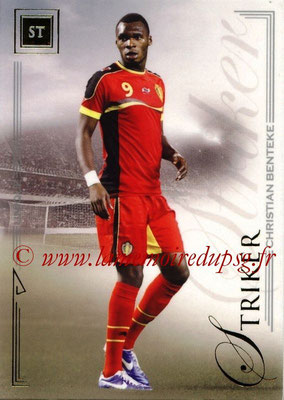 2014 - Futera World Football Unique - N° 066 - Christian BENTEKE (Striker)