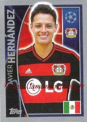 2015-16 - Topps UEFA Champions League Stickers - N° 332 - Javier HERNANDEZ (Bayer 04 Leverkusen)