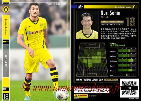 Panini Football League 2014 - PFL07 - N° 092 - Nuri SAHIN (Borussia Dortmund)