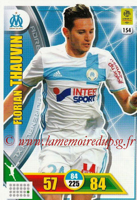 2017-18 - Panini Adrenalyn XL Ligue 1 - N° 154 - Florian THAUVIN (Marseille)