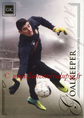 2014 - Futera World Football Unique - N° 004 - Thibaut COURTOIS (Goalkeeper)