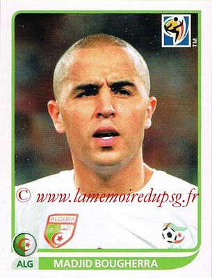 2010 - Panini FIFA World Cup South Africa Stickers - N° 226 - Madjid BOUGHERRA (Algérie)