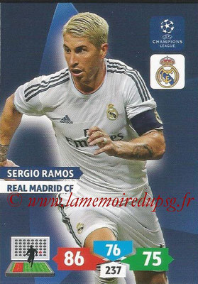 2013-14 - Adrenalyn XL champions League N° 236 - Sergio RAMOS (Real Madrid CF)
