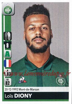 2018-19 - Panini Ligue 1 Stickers - N° 441 - Loïs DIONY (Saint-Etienne)