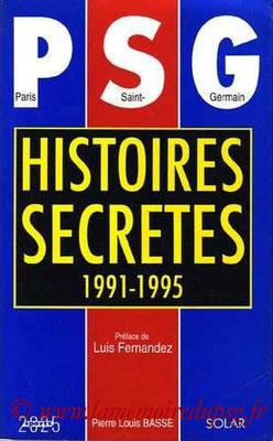 1995-05-19 - PSG histoires secretes 1991-95 (Solar, 200 pages)