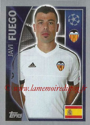 2015-16 - Topps UEFA Champions League Stickers - N° 559 - Javi FUEGO (FC Valence)