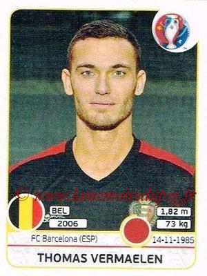 Panini Euro 2016 Stickers - N° 468 - Thomas VERMAELEN (Belgique)