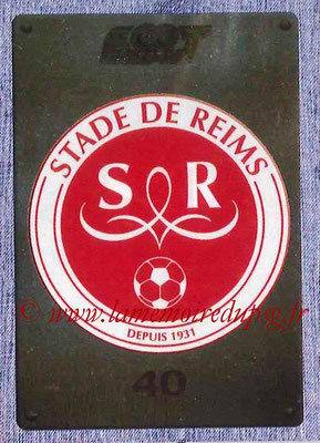 2015-16 - Panini Ligue 1 Stickers - N° 361- Ecusson Stade de Reims