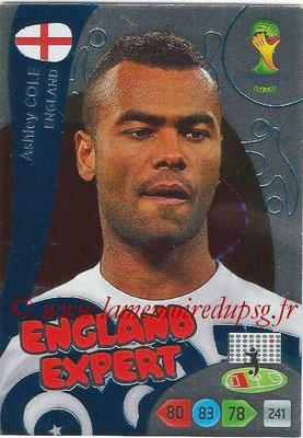 2014 - Panini FIFA World Cup Brazil Adrenalyn XL - N° 381 - Ashley COLE (Angleterre) (Expert)