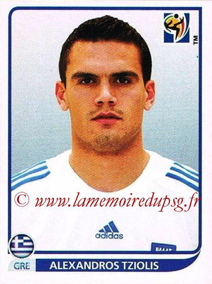2010 - Panini FIFA World Cup South Africa Stickers - N° 173 - Alexandros TZIOLIS (Hellas)