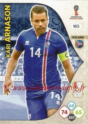 2018 - Panini FIFA World Cup Russia Adrenalyn XL - N° 185 - Alfred FINNBOGASON (Islande)