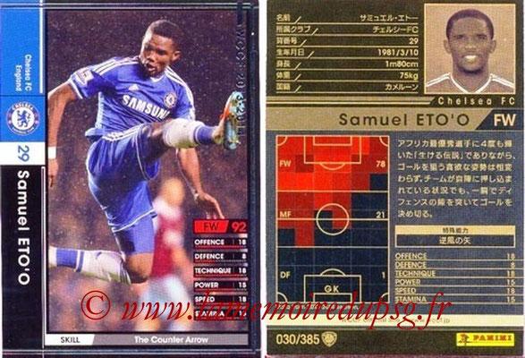 2013-14 - WCCF - N° 030 - Samuel ETO'O (Chelsea FC)