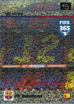 2015-16 - Panini Adrenalyn XL FIFA 365 - N° 299 - FC Barcelone (12th Man)