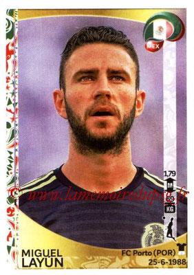 Panini Copa America Centenario USA 2016 Stickers - N° 215 - Miguel LAYUN (Mexique)