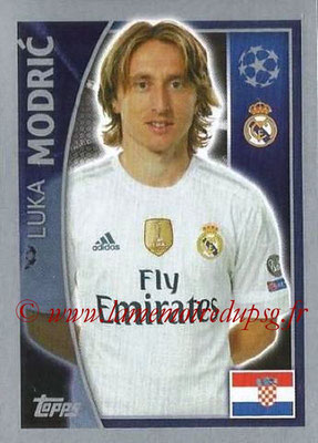 2015-16 - Topps UEFA Champions League Stickers - N° 038 - Luka MODRIC (Real Madrid CF)