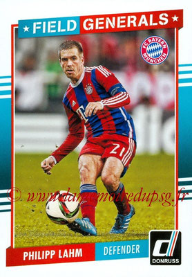 2015 - Panini Donruss Soccer - N° FG11 - Philipp LAHM (FC Bayern Munich) (Field Generals)R