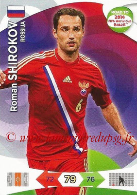 2014 - Panini Road to FIFA World Cup Brazil Adrenalyn XL - N° 161 - Roman SHIROKOV (Russie)