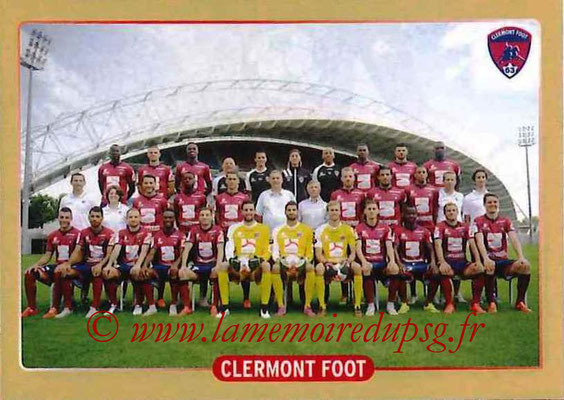 2015-16 - Panini Ligue 1 Stickers - N° 490 - Equipe Clermont Foot 63