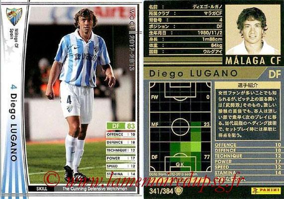 N° 341 - Diego LUGANO (2011-Janv 13, PSG > Janv à Juin 2013, Malaga, ESP)