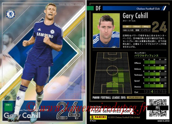 Panini Football League 2015 - PFL09 - N° 063 - Gary CAHILL (Chelsea FC) (Star +)