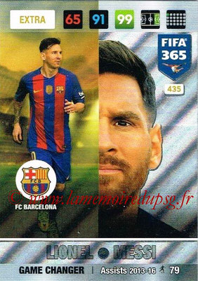 2016-17 - Panini Adrenalyn XL FIFA 365 - N° 435 - Lionel MESSI (FC Barcelone) (Game Changer) (Nordic Edition)