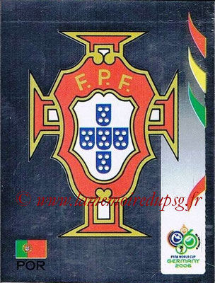 2006 - Panini FIFA World Cup Germany Stickers - N° 283 - Logo Portugal