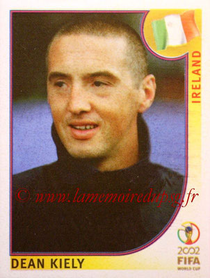 2002 - Panini FIFA World Cup Stickers - N° 366 - Dean KIELY (Irlande)