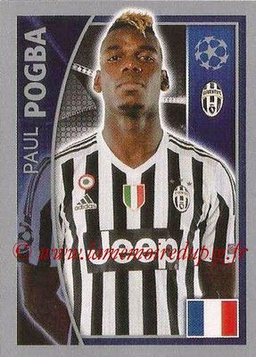 2015-16 - Topps UEFA Champions League Stickers - N° 243 - Paul POGBA (Juventus FC)