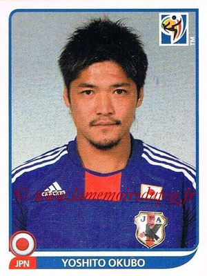 2010 - Panini FIFA World Cup South Africa Stickers - N° 390 - Yoshito OKUBO (Japon)