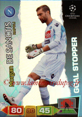 2011-12 - Panini Champions League Cards - N° 289 - Morgan DE SANCTIS (SSC Naples) (Goal Stopper)