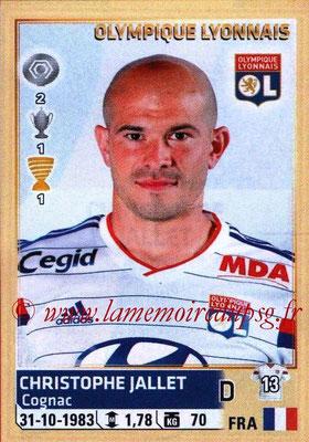 N° 201 - Christophe JALLET (2009-14, PSG > 2014-15, Lyon)