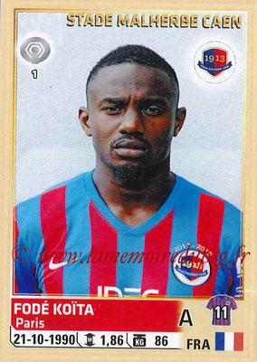 2014-15 - Panini Ligue 1 Stickers - N° 068 - Fodé KOITA (SM Caen)