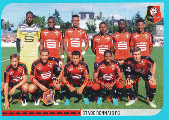 2016-17 - Panini Ligue 1 Stickers - N° 718 - Equipe Rennes