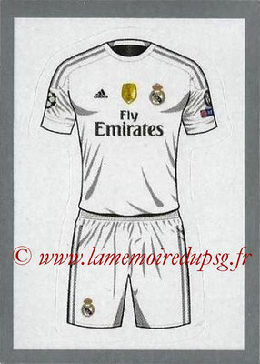 2015-16 - Topps UEFA Champions League Stickers - N° 008 - Maillot Domicile Real Madrid CF