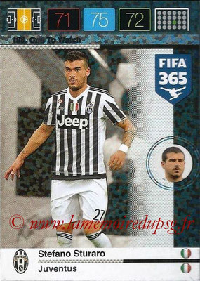 2015-16 - Panini Adrenalyn XL FIFA 365 - N° 198 - Stefano STURARO (Juventus FC) (One to Watch)