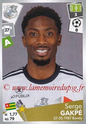 2017-18 - Panini Ligue 1 Stickers - N° 015 - Serge GAKPE (Amiens)