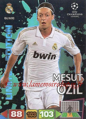 2011-12 - Panini Champions League Cards - N° LE39 - Mesut ÖSIL (Real Madrid CF) (Limited Edition)