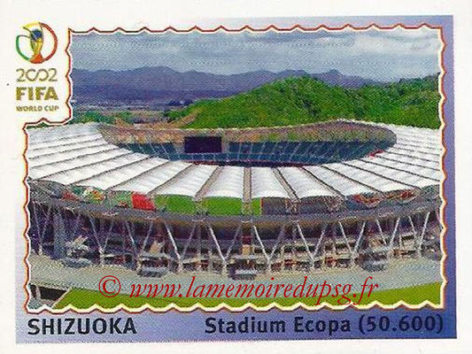 2002 - Panini FIFA World Cup Stickers - N° 024 - Stade Shizuoka (Stadium Ecopa)