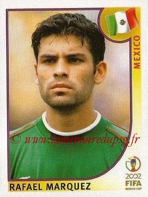 2002 - Panini FIFA World Cup Stickers - N° 497 - Rafael MARQUEZ (Mexique)