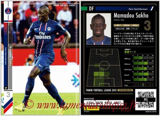 Panini Football League 2013 - PFL02 - N° 065 - Mamadou Sakho ( Paris Saint-Germain )
