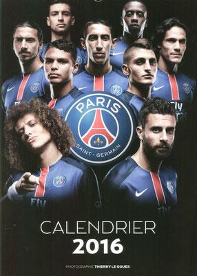 Calendrier  PSG  2016