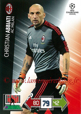 2012-13 - Adrenalyn XL champions League N° 151 - Christian ABBIATI (Milan AC)