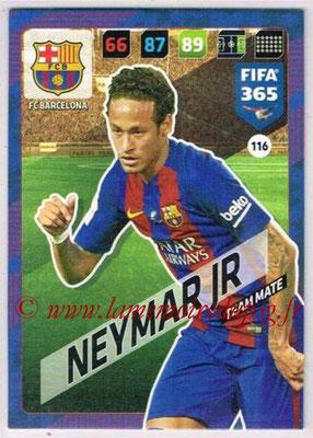 2017-18 - Panini FIFA 365 Cards - N° 116 - NEYMAR Jr. (FC Barcelone)