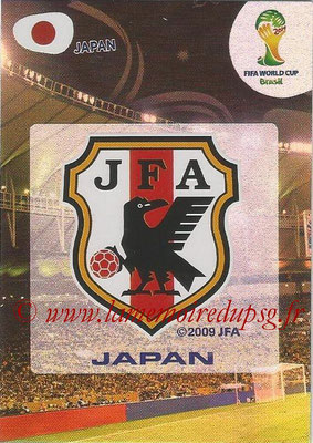 2014 - Panini FIFA World Cup Brazil Adrenalyn XL - N° 223 - Logo Japon