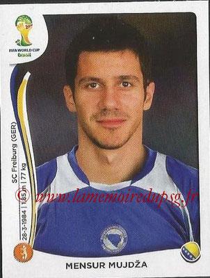 2014 - Panini FIFA World Cup Brazil Stickers - N° 441 - Mensur MUJOZA (Bosnie Herzegovine)