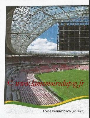 2014 - Panini FIFA World Cup Brazil Stickers - N° 024 - Arena Pernambuco - Recife (1)