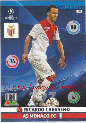 2014-15 - Adrenalyn XL champions League N° 183 - Ricardo CARVALHO (AS Monaco)