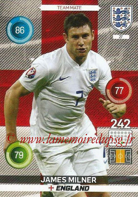 Panini England 2016 Adrenalyn XL - N° 027