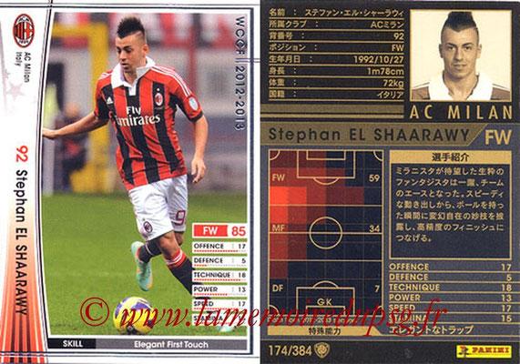 2012-13 - WCCF - N° 174 - Stephan EL SHAARAWY (Milan AC)